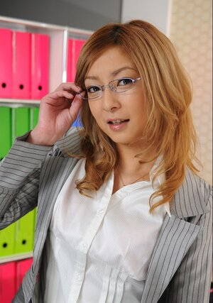 Charming Japanese secretary is every time ready to answer a call and additionally pose being clothed