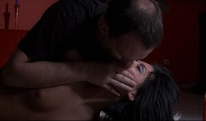 Brunette loves these BDSM games and additionally plays plus torturer on his carpet