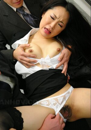 Japanese office kitten likes being treated like whore by colleagues sucking everyone