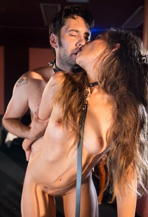 Domme Chanel Preston controls one of her sluts getting owned by a slave