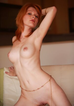 Entrancing kitten with red hair will easily lure even married guy if she wants