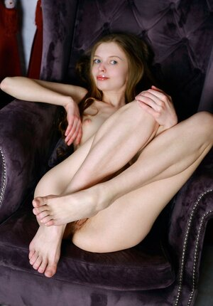 Floozy with hairy pink slit talked to relax on camera and show what she has got