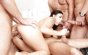 So plenty of fuck tools are waiting for brunette masseuse to undress and plus fool around