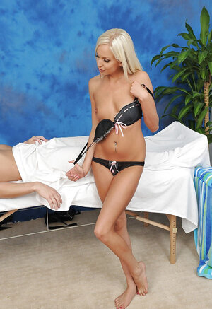 Gorgeous Czech dame Jenny Appach with platinum blonde hair has coition